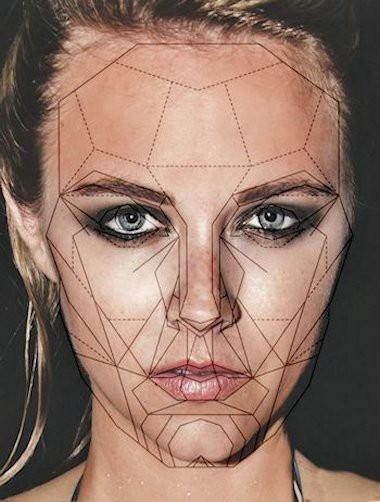 golden ratio face simple