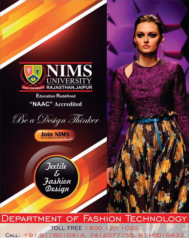 Fashion Designing Courses Textile Designing Courses Nims University Jaipur Rajasthan By Nims University Medium