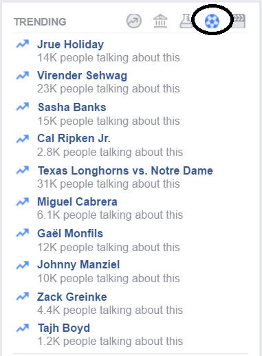 4 Ways to Use Facebook Trending Topics For Your Business