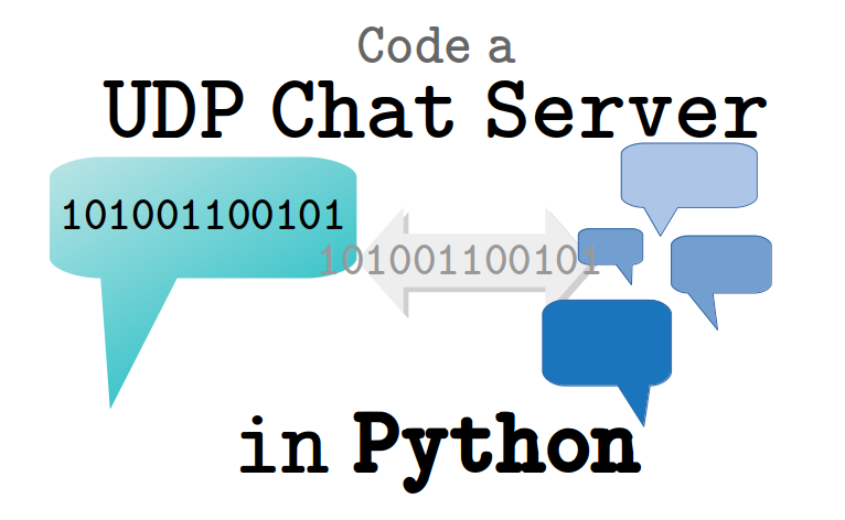 Python Client and Server Internet Communication Using UDP