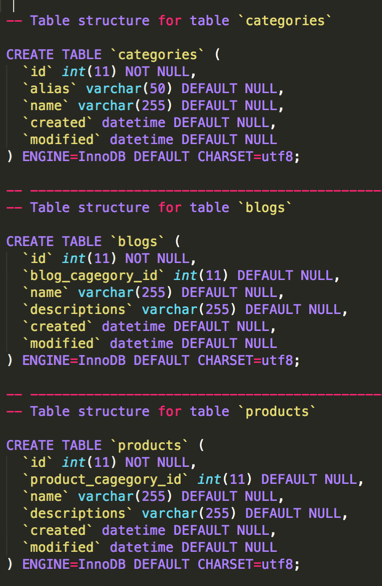 CakePHP 3 associations : Multiple data in one table