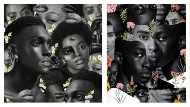 Artwork from Alexis Tsegba —diversity of Black people