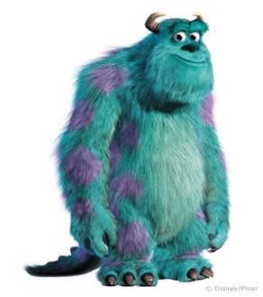 """Great Character: Sulley (""""Monsters, Inc """") - Go Into The Story"""