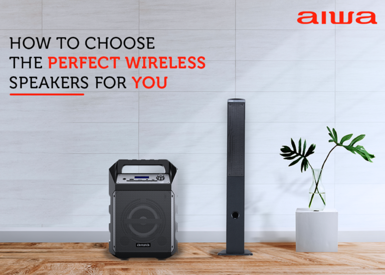How To Choose The Best Wireless Speakers For You By Aiwa India Medium