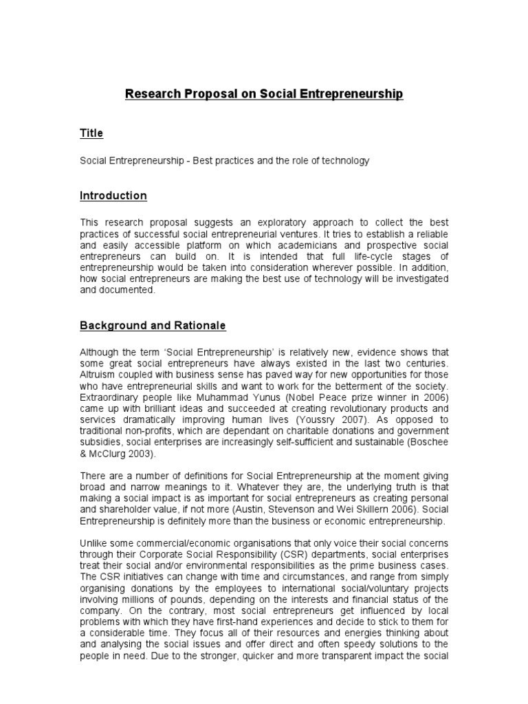 Good Phd Proposal