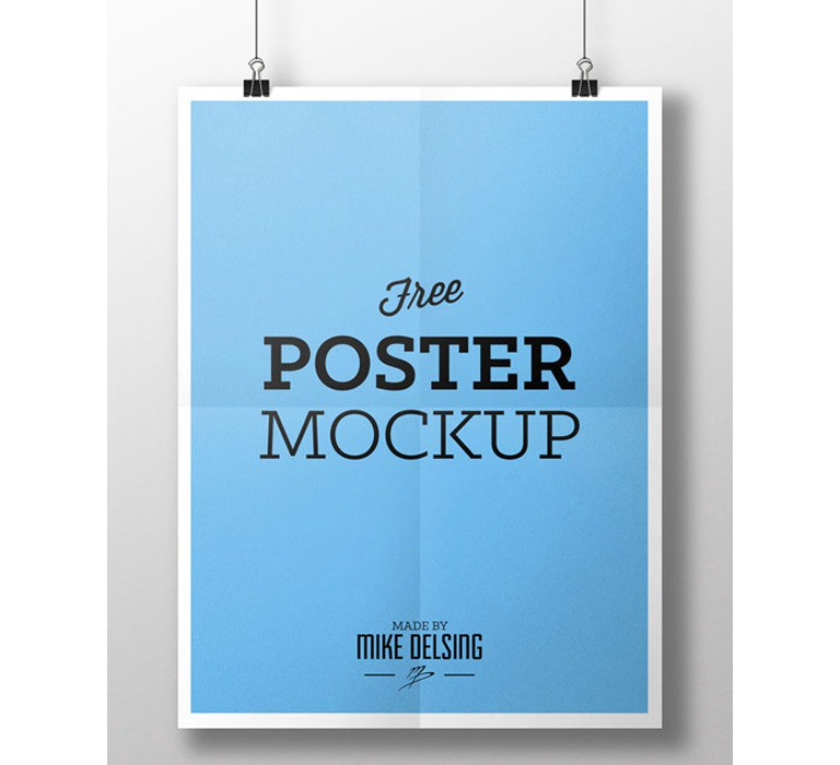 Free Psd Poster Mockups For Download By Visualmodo Medium