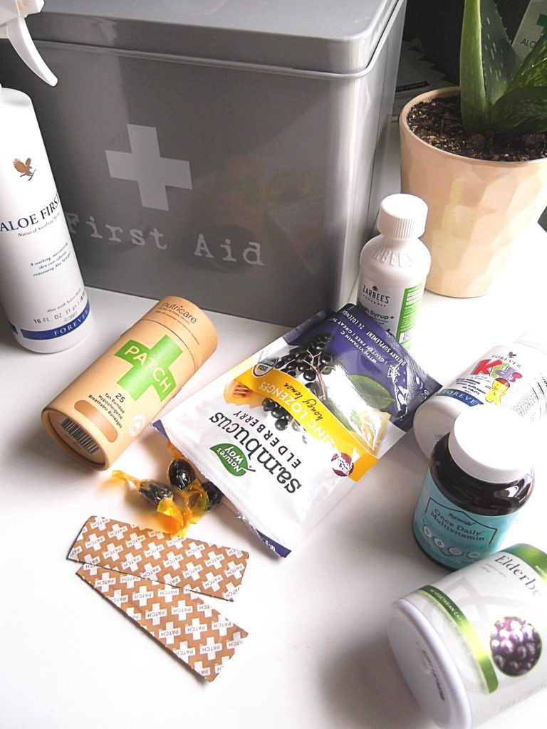 Essential Basics For A Natural First Aid Medicine Cabinet By Oana Muresan Medium
