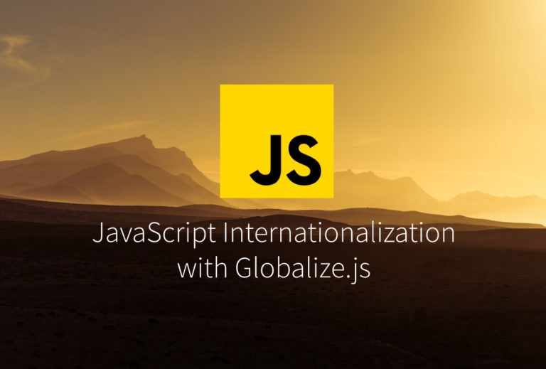JS I18n with Globalize js - i18n and l10n Resources for