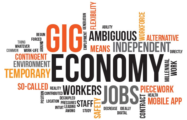 why is the gig economy sector attractive to skilled workers, startups, and  established companies in the uk?   by hela job   medium