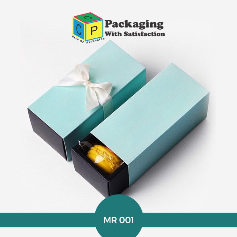 Custom macron boxes that you can order wholesale amount