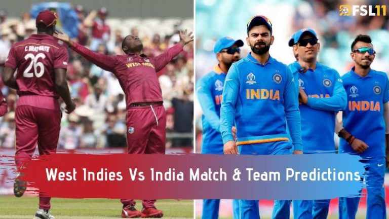 India Vs West Indies Match Prediction, Playing 11 and Team