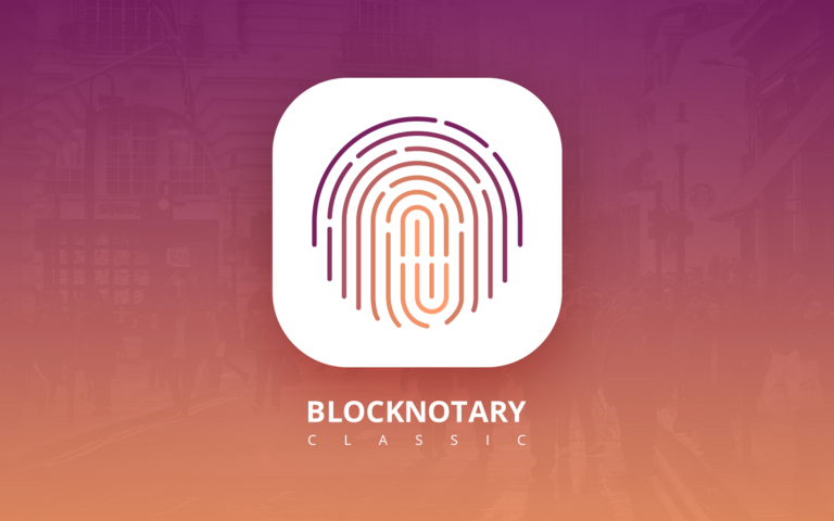 Blockchain notary to sign