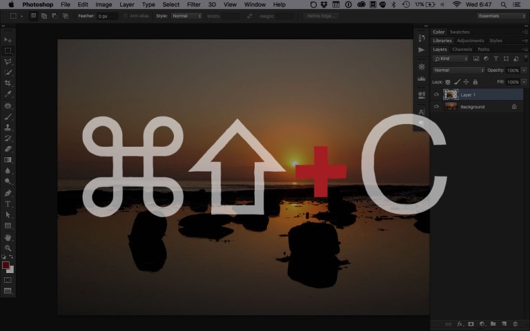 Photoshop Quick Tip: Copy visible area - Peter Costello - Medium