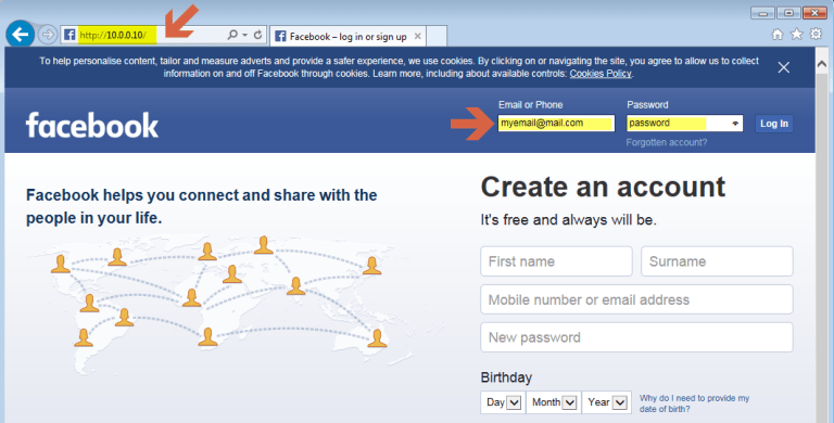 Setoolkit Fake Facebook Site In This Tutorial I Will Show You How By Leandro Almeida Medium