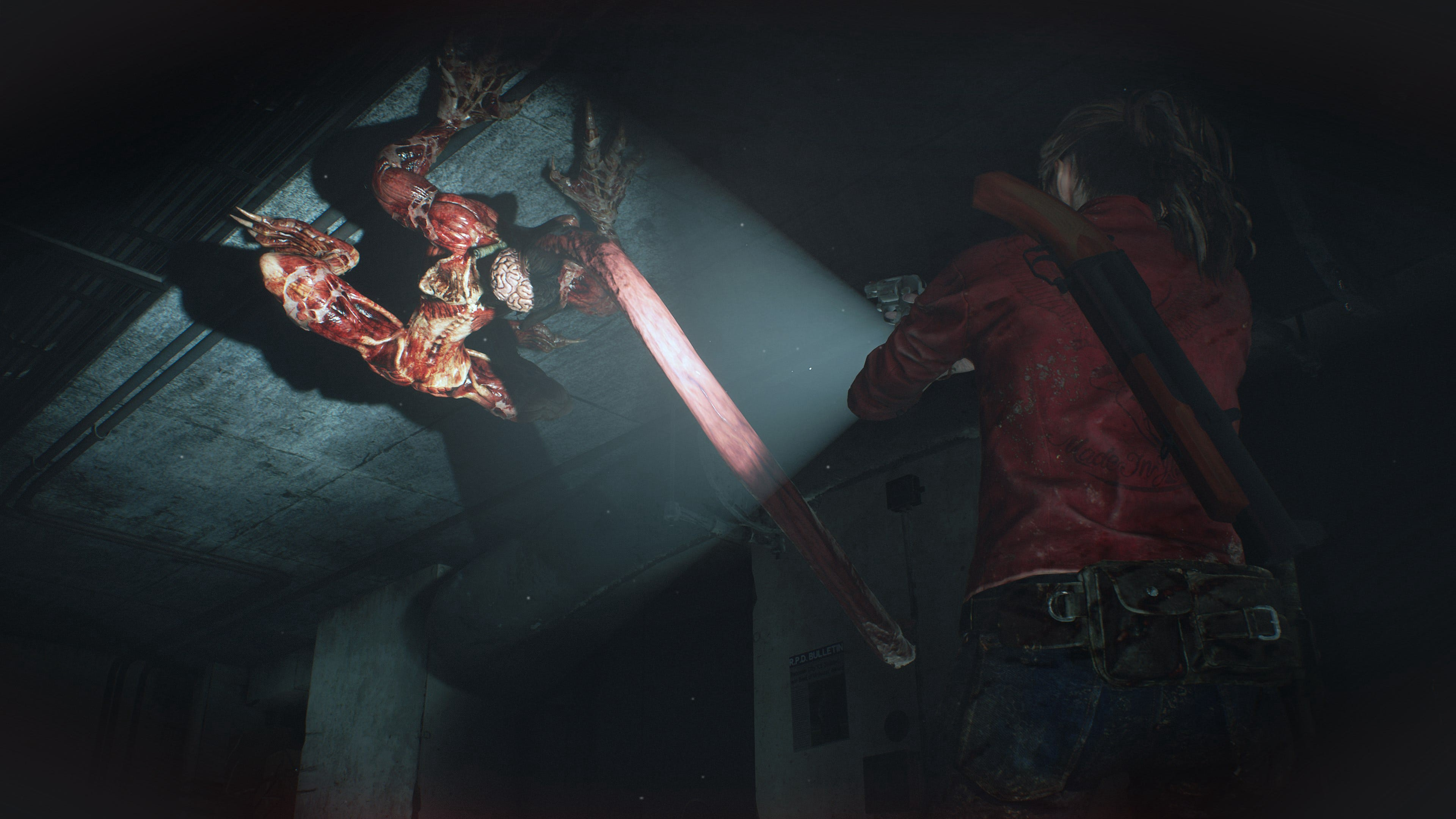 resident evil 2 remake graphics horror