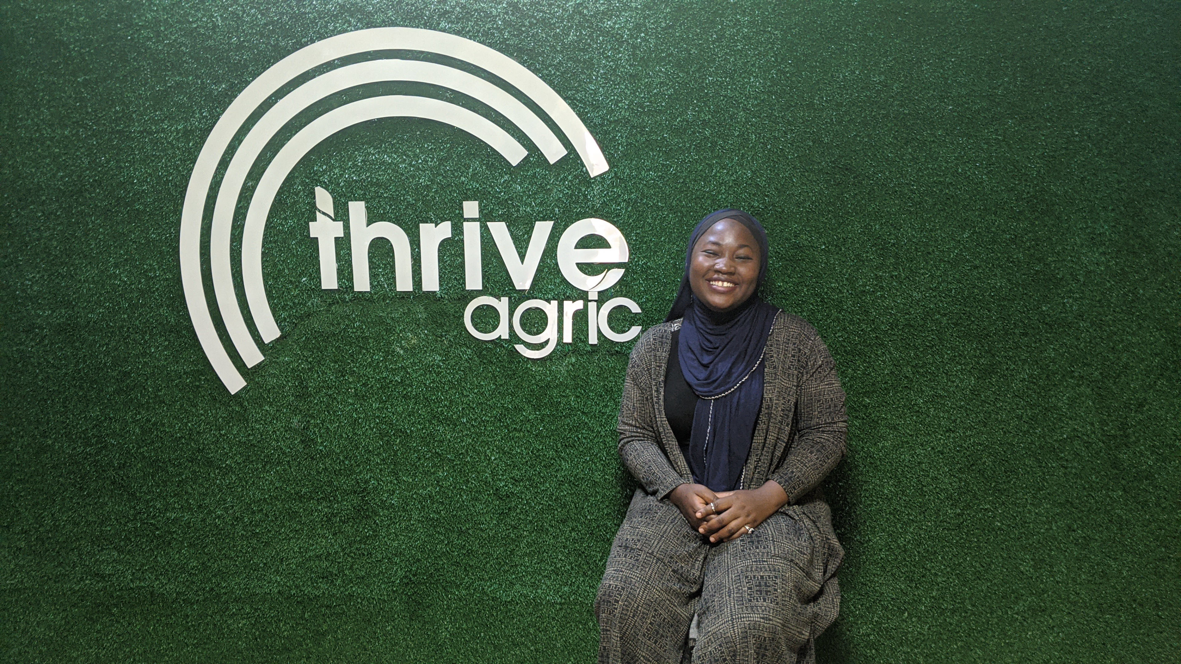 Samirah Bello at Thrive Agric