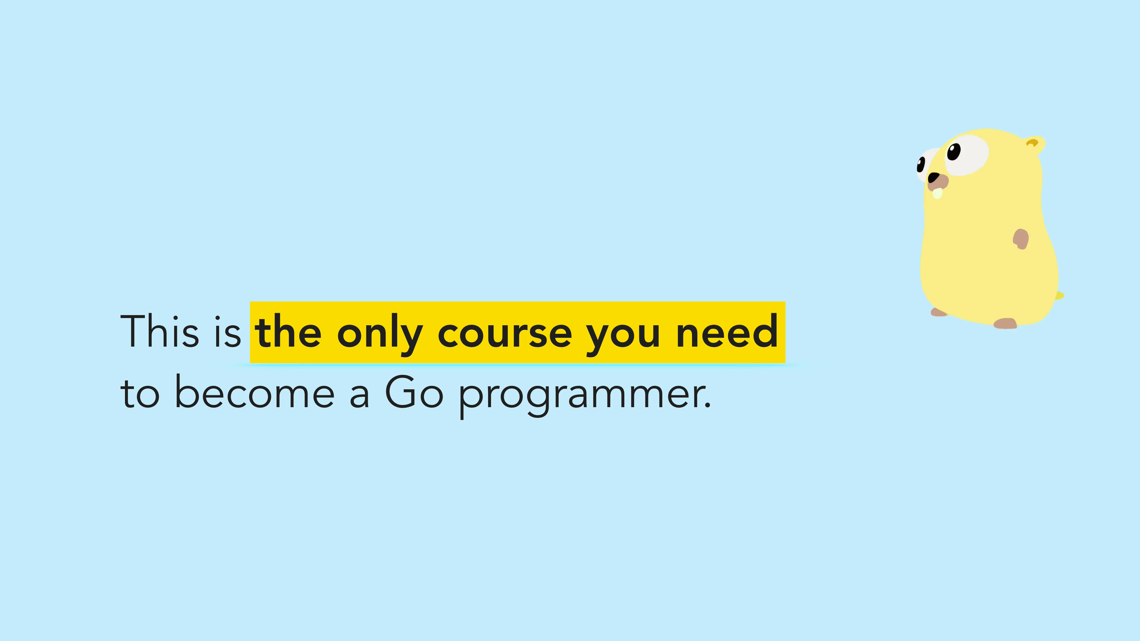 ⭐ Go: Complete Bootcamp Course - Learn Go Programming
