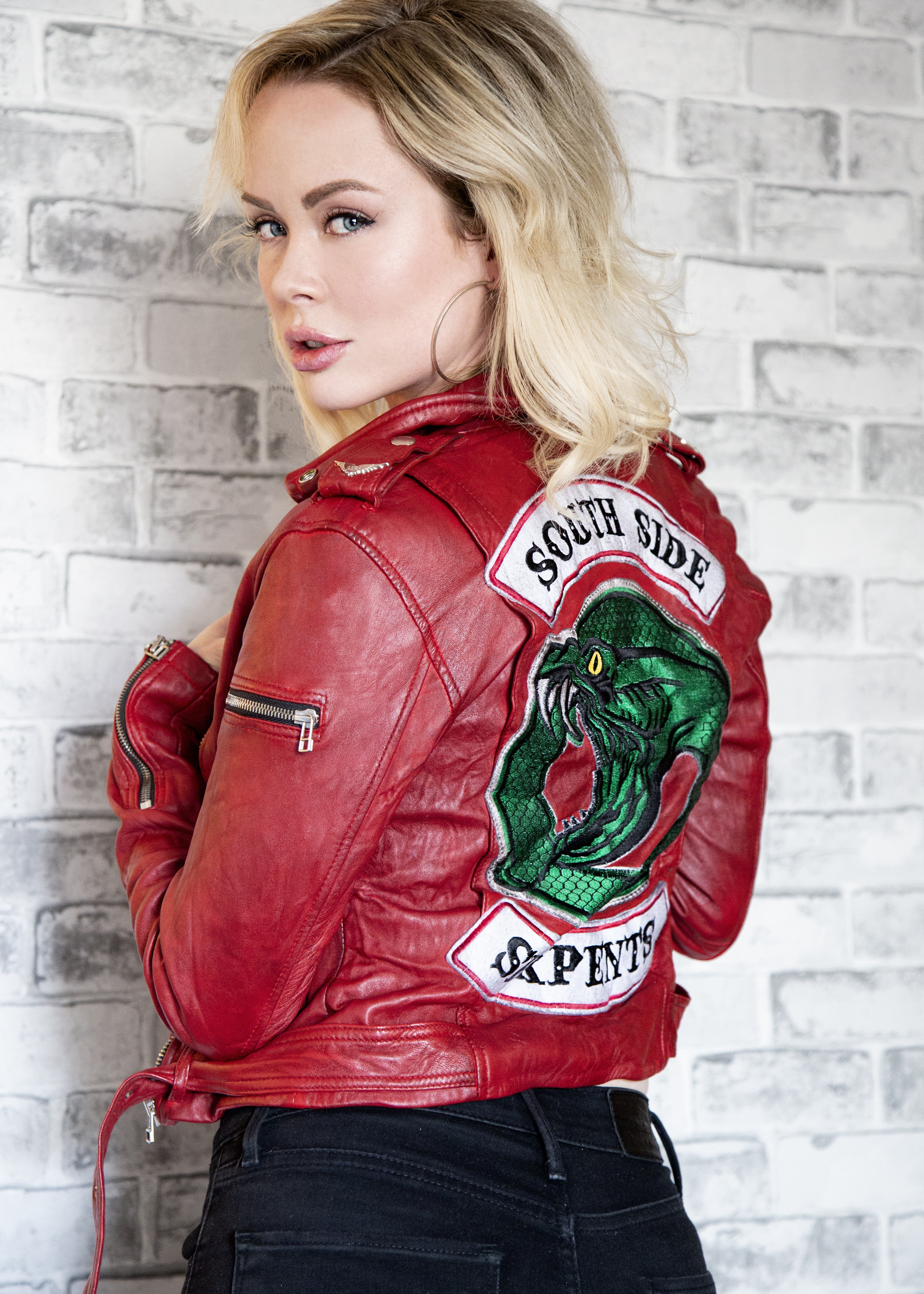 Riverdale Southside Serpents Jughead Cheryl Leather Jacket