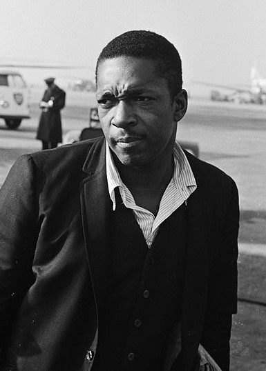 Coltrane Standing Outside