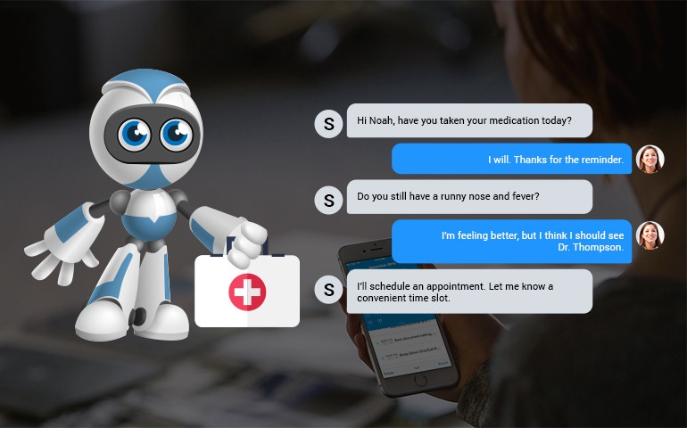 Chatbots — The Perfect Way to Deliver Personalized Patient Care | by Sulakshana Iyer | Chatbots Magazine