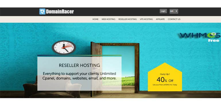 cheap reseller hosting with free whmcs