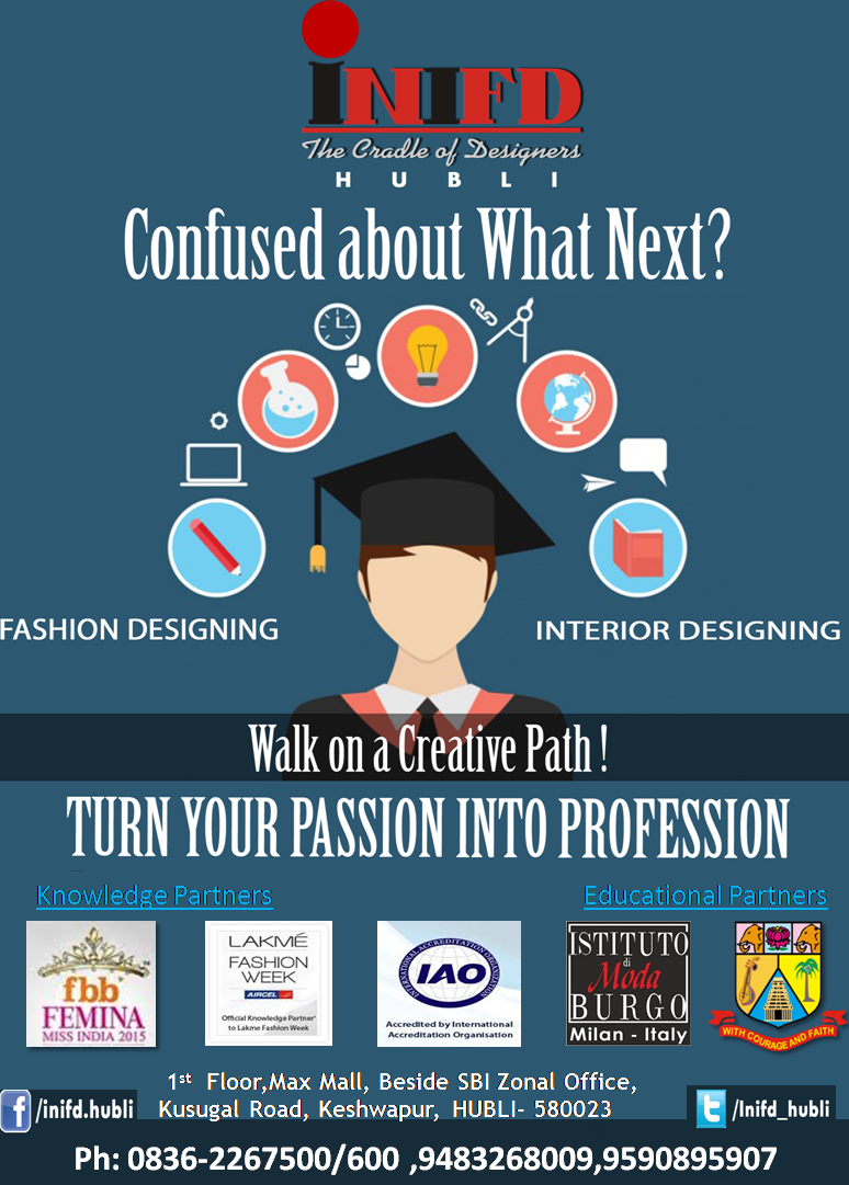 Why Should I Take A Study Course To Become A Fashion Designer By Inifd Hubli Medium