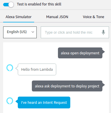 Amazon Alexa : Build a new Skill with AWS Lambda to automatically