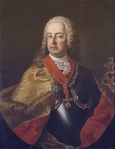 Francis painted wearing the Austrian Order of the Golden Fleece.