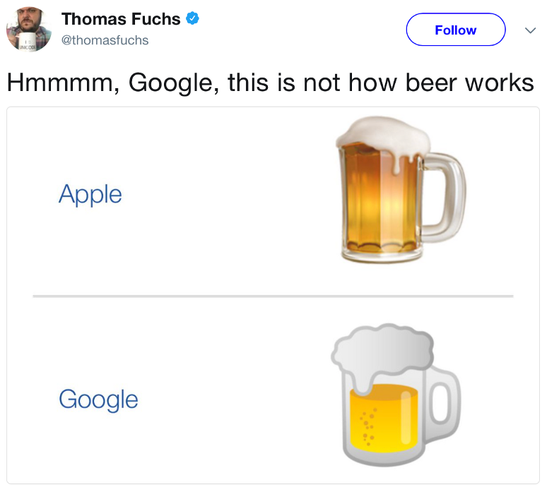 """google """"drops everything"""" to copy apple - kylethale - Medium"""