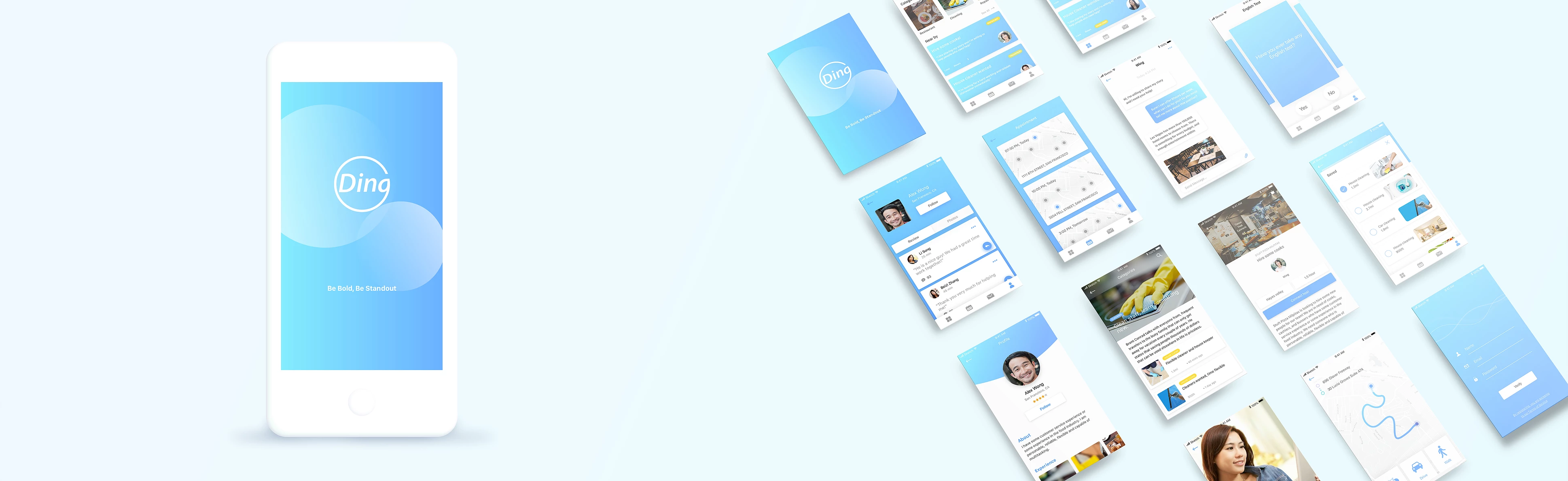 Ding UX design case study - UX Collective