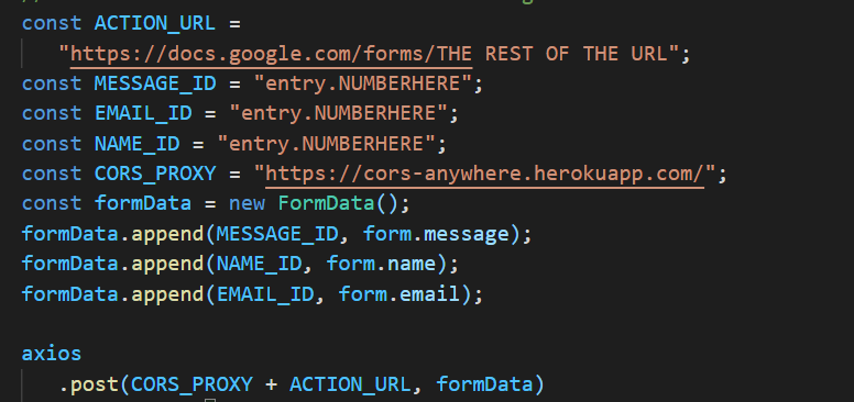 Creating a Backend-Less Contact Form Using Google Forms