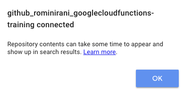 Google Cloud Functions Tutorial : Deploying from a Source