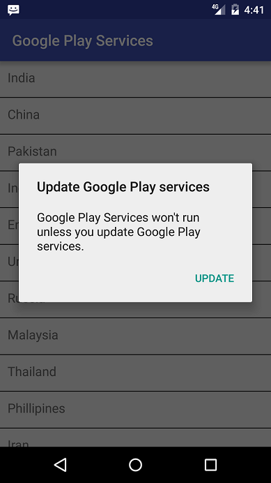 An advice before using the latest version of Google Play Services