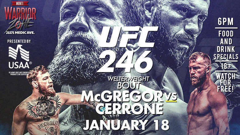 Live Fight Thread Ufc 246 Live Streams Reddit