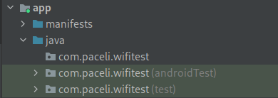 Source sets in Android Studio project