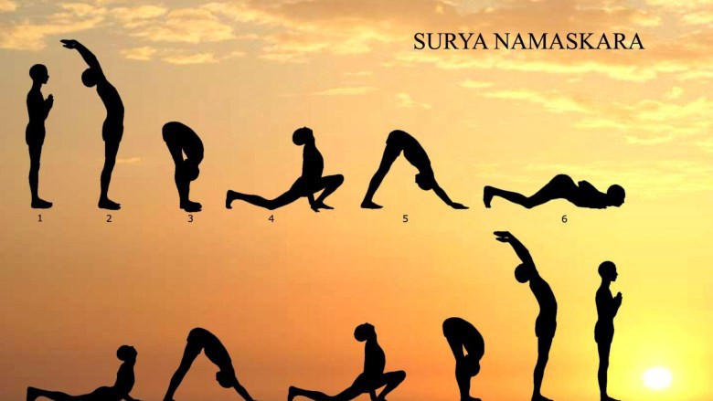 The Surya Namaskar — Steps and benefits!
