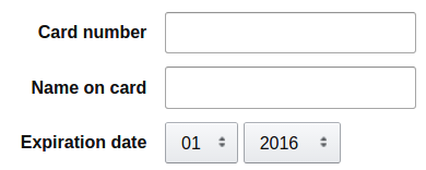 Designing a credit card expiration date drop-down: How many years in