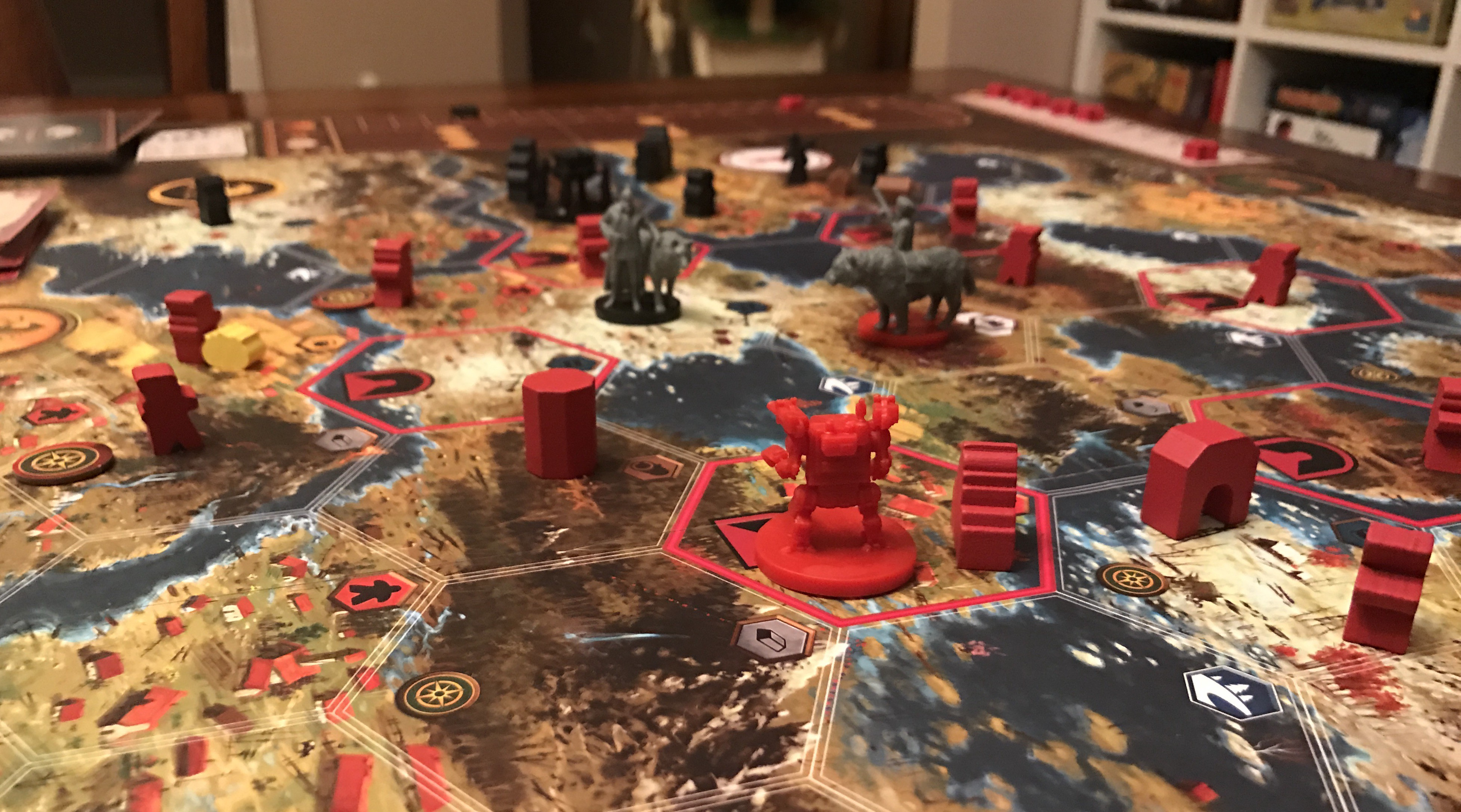 Scythe Board Game Multiplayer Strategy Historical Games 115 Minutes Playtime