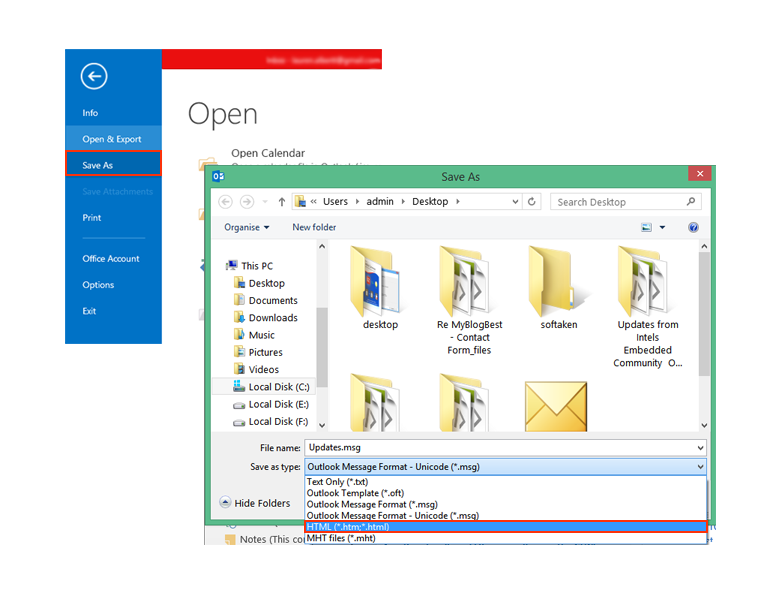 Convert Outlook 2016 Email to PDF with Attachments - Jessica