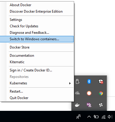 Installing and trying Docker for Windows - Microservices for