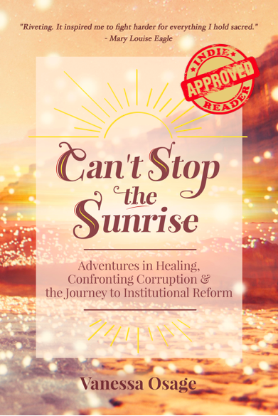 Cover of the author's recent book, Can't Stop the Sunrise