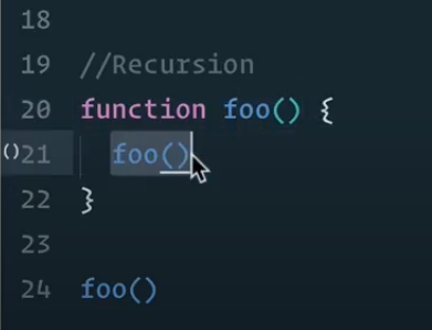 Recursion function
