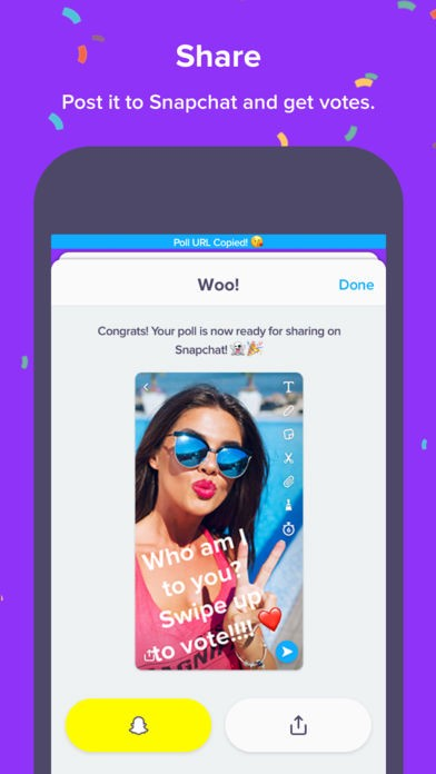 Polly Rivals Sarahah At its Own Game Of Snapchat - Mobileappdaily