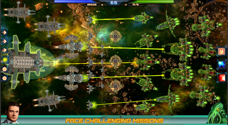Armada Commander For Android Is One Of The Most Stunning Rts Space