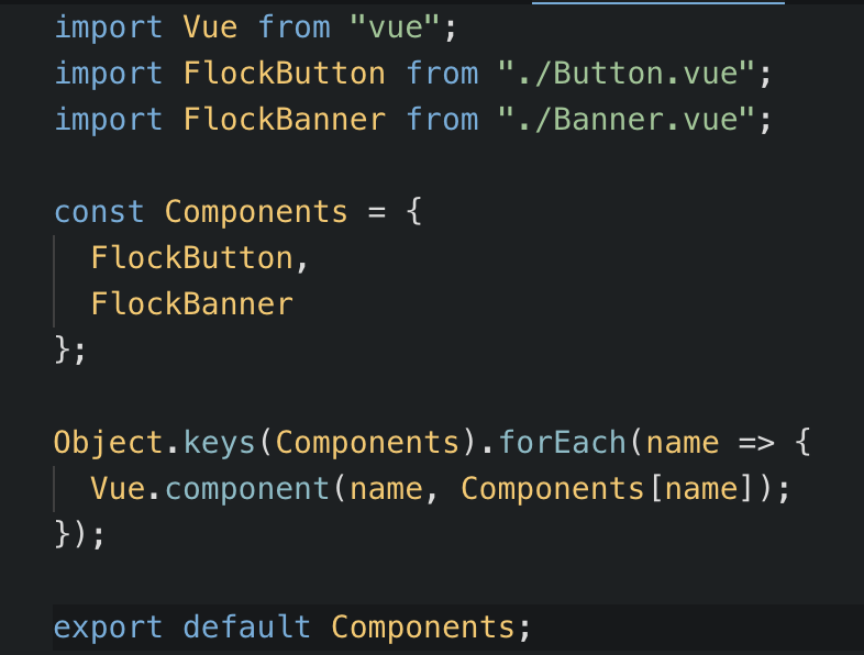 How to create, publish and use your own VueJS Component