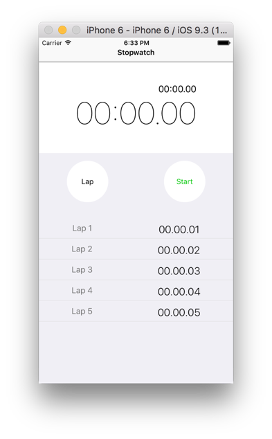 React Native App (1) Stopwatch - VLT - Medium
