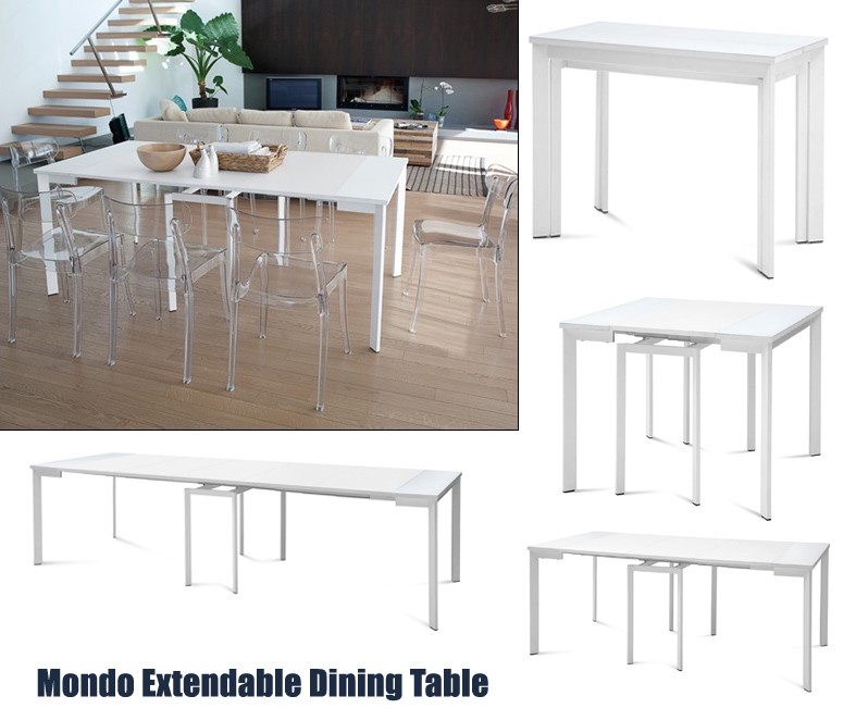 Compact And Functional Dining Room Tables For Small Spaces By Modern Manhattan Medium
