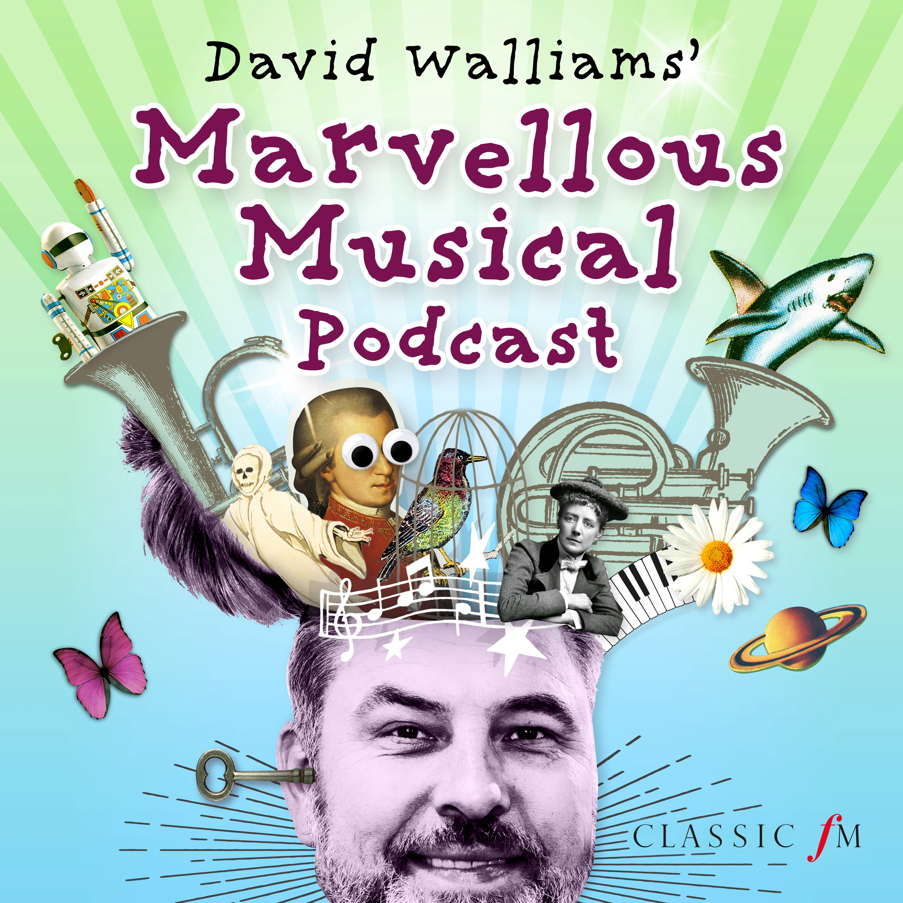 Classic FM and David Walliams team up on classical-music