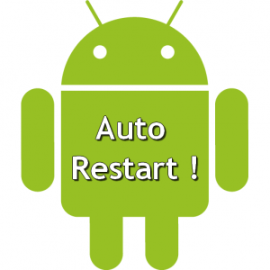 How to auto restart an Android Application after a Crash or