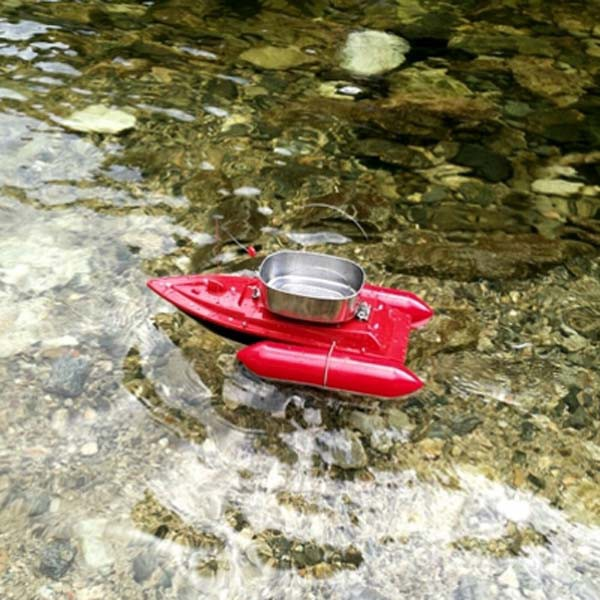 RC Bait Casting Boat for Fishing in Sea, River - Fishing Tackle - Medium